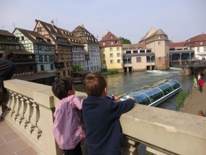 la petite france is a great place to visit with kids in Strasbourg
