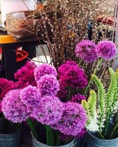 flowers at ballard market