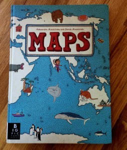 maps book is one of the best travel resources for kids