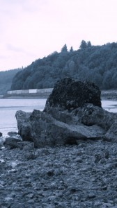 whispering rock in carkeek park