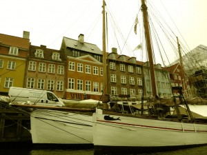 view from boat tour in Copenhagen