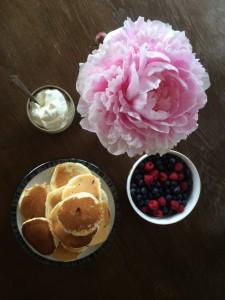 panckaes for breakfast