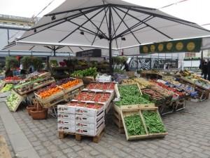 veggie stand in copenhagen