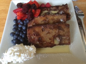 french toast from portage bay cafe