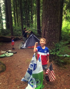 camping at Willaby Campground