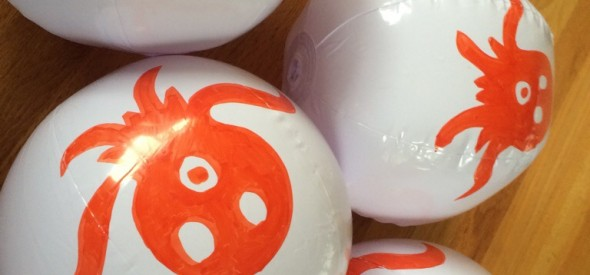 easy to make octonauts party balloons for swimming pool