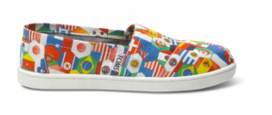 toms with flags on them