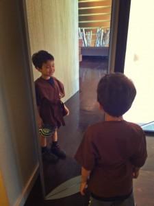 cute kids' robe at gene juarez uvillage