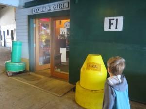 the Coffee Girl in Astoria Oregon