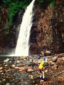 hiking at Denny Creek