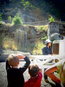 britannia mine with kids