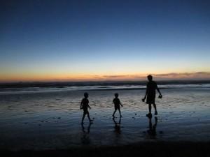 Kalaloch Beach at night