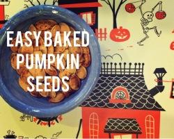 easy baked pumpkin seeds recipe
