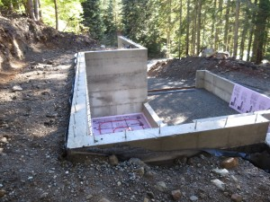 building a cabin in the woods in snoqualmie pass washington