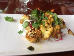 appetizer for restaurant week at dahlia lounge