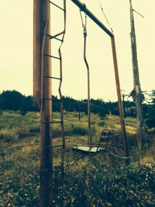 chairlift on a hike