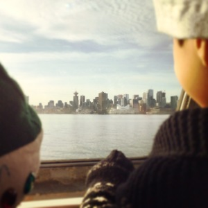 seabus with kids