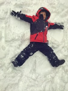 snow at Whistler