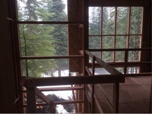 the inside of the cabin project