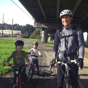 seattle biking with kids