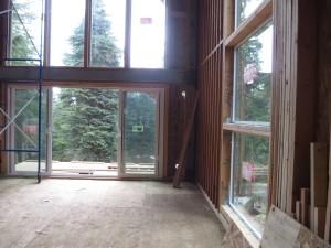modern ski cabin in the northwest