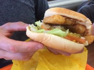 whataburger vegetarian sandwich