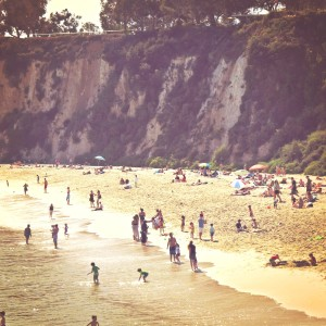 beaches with kids in California
