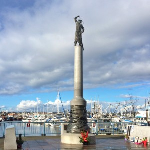 memorial at Fisherman's Terminal