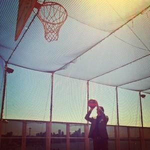 cruise ship basketball