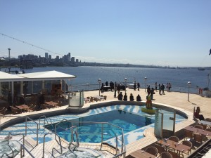 outdoor pool on ms westerdam