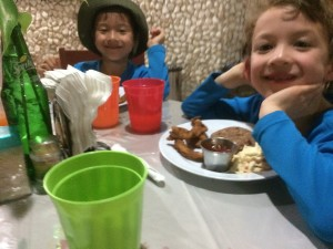 staying at the Belize Zoo with kids