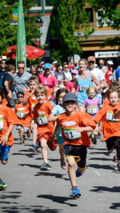 kids run photo from the north face run
