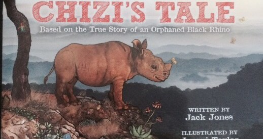 a book about endangered black rhinos for kids