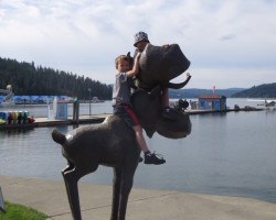 family travel Coeur D'Alene