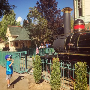 train at Silverwood