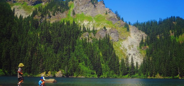 short hikes near Seattle with kids