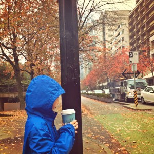 fall colors downtown vancouver