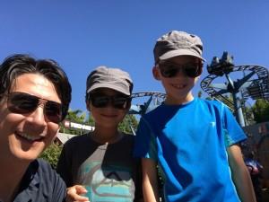 Boys at Legoland