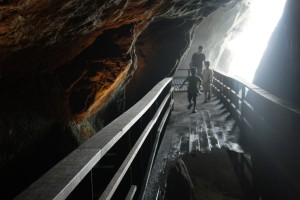 what's under the la jolla cave store