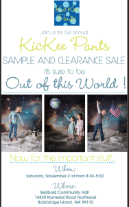 kickee pants sale on bainbridge island