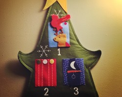 make your own advent calendar project