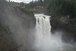 Snoqualmie Falls in December 2015