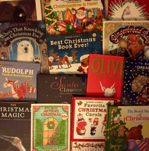 Christmas books from Heather for homemade advent calendar