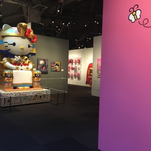 hello kitty at the Seattle EMP