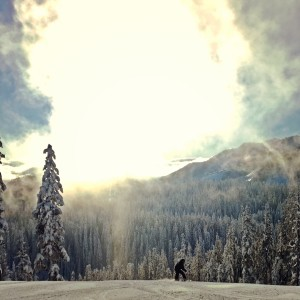 skiing local near seattle at Snoqualmie Pass wtih kids