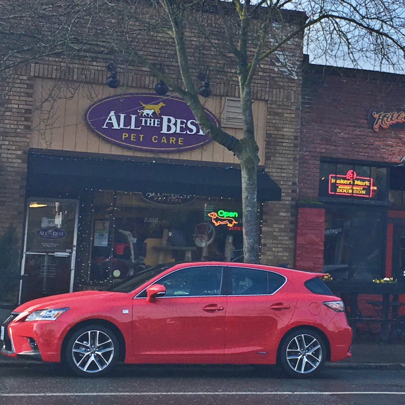 2016 Lexus Ct Exterior: Where To Take A Pretty Red Car In Seattle (Lexus CT Hybrid