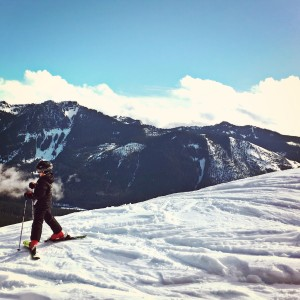 summit at snoqualmie pass with kids