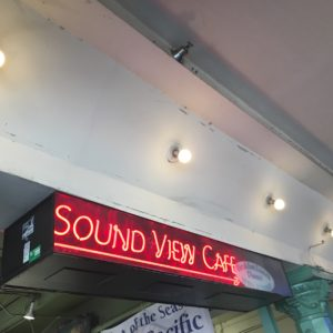Sound View Cafe in Pike Place Market Seattle