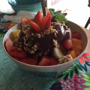 Acai bowl at Katy's Cafe in Imperial Beach