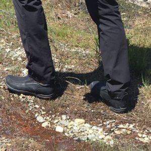 Men's Brisk Black shoe from Westrn Chief
